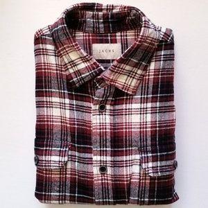 Jachs Button Up Flannel Shirt